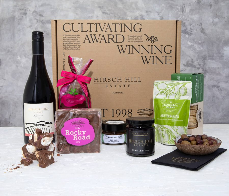 Hirsch Hill Hamper - Wine hamper pack